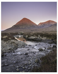 The Red Hills (The Flying Pig) Tags: uk mountains skye scotland afterglow redcuillin hitechfilters landscapesshotinportraitformat sonya7rmetabonesivcanoneflens