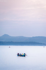 Boating in Bhandardara dam (BudgetYatri) Tags: boating igatpuri bhandardara arthurlake sunsetscene