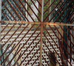 Lattice World (mikecogh) Tags: frames angles mirrors lattice glenside