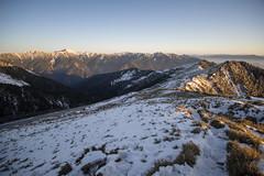 -35 (billlushana1) Tags: sunset mountain snow rock canon landscape outdoor sony taiwan  peaks  taroko hualien  tarokonationalpark  superwide hehuanshan  ef1740mmf4lusm  mountain 14 100peaksoftaiwan taiwantop100peaks qilaishan sonya7r