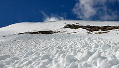 Slip Sliding Away (Free.heel) Tags: snow spring avalanche lochaber nevisrange nikond810 backcorries wingerwall