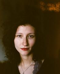 Madeline (darylovejr) Tags: film portraits mediumformat nc pentax 400 medium format 28 feed 6x7 expired 90mm portra 67 portra400 pentax67