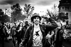 Les tudiants (Solylock) Tags: blackandwhite bw mars students monochrome hat saint square march photo place noiretblanc rally streetphotography banksy nb travail chapeau monochrom toulouse coming rue rpublique qui whom contre tudiants manifestation insurrection loi cyprien crs jeunes mutiny lycens 2016 photoderue medef gendarmes manifestants youngers vient matabiau rforme loitravail elkhomry khomryvallshollande