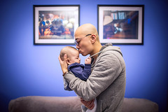 Father and Son (HIKARU Pan) Tags: china portrait baby love horizontal photography asia shanghai chinese wideangle indoors together fatherandson 24l 1dx canonef24mmf14liiusm eos1dx
