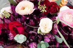 IMG_1074 (Garden Party Flowers) Tags: flowers rose vancouver succulent tulips burgundy ranunculus florist parrottulip