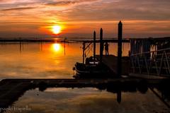 sunset.. (paolotrapella) Tags: sunset water del canon tramonto mare sundown sole acqua decline calare