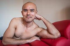 IMG_1466 (Zefrog) Tags: uk portrait man london pecs asian topless johann zefrog