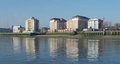 IMGP0236 (mattbuck4950) Tags: england london water reflections march europe unitedkingdom rivers riverthames gbr 2016 londonboroughoftowerhamlets londonboroughofsouthwark lenssigma18250mm camerapentaxk50