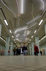 Konst i Stockholms t-bana (Ana >>> f o t o g r a f  a s) Tags: underground subway metro sweden stockholm schweden sverige scandinavia sthlm stoccolma suecia htorget tunnelbana fused tbana photomatix stockholmcard potd:country=es