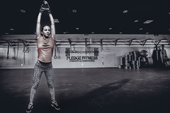 Kettlebell (jimisolek) Tags: woman strong fitness gym kettlebell