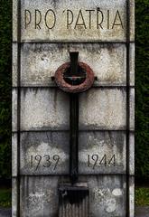 PRO PATRIA 1939-1944 (ri Sa) Tags: cemetery finland helsinki memorial pro patria malmi