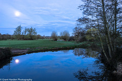 Flatford Mill, Suffolk, UK (granth2903) Tags: uk morning trees sky water clouds sunrise reflections suffolk calm tranquil waterscape flatfordmill canon1740l sonya7ii