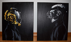 Daft Punk Helmet (popcomic.shop) Tags: color art wall modern punk mask helmet quadro pop daft daftpunk tela acrilico popcomic popcomicshop