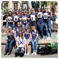 Team de la Marie / Plaa Reial / Barcelona (rob4xs) Tags: barcelona wedding spain marine catalunya maries isa spanje popo plaareial cataloni marinechirat teamdelamarie