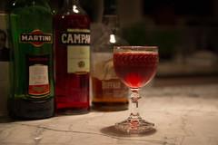 Boulevardier Cocktail (ChodHound) Tags: cocktails bourbon campari vermouth boulevardier