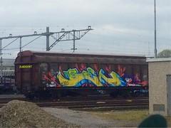 Venlo (Pictures? stuurjetroepnaarmij@yahoo.nl) Tags: freighttrain trainart paintedtrain