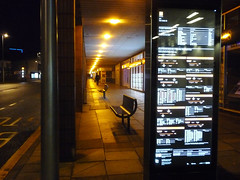 Bus Stop_New Union Street_Coventry_Apr16 (Ian Halsey) Tags: geotagged waitingforthebus nightbus imagesgooglecom flickriver coventrynight newunionstreet flickr:user=ianhalsey copyright:owner=ianhalsey exif:model=panasoniclumixdmctz4 coventryatnight location:coventry=newunionstreet