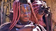 Himba woman (flowerikka) Tags: namibia himba nomaden kaokeveld