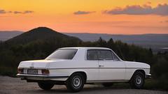 Mercedes-Benz 280 CE /8 (flofler) Tags: sunset 8 mercedesbenz coupe daimler w114