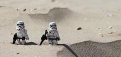 In the Desert (melix200) Tags: star sand war warm gun desert lego helmet battle scene disney plastic galaxy stormtrooper wars legostarwars blaster tatooine battlefront legotoy legomoc legomania legogroup legofan legopic