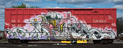 368574_DSC_6416 (The Curse Of Brian) Tags: minnesota graffiti minneapolis trains grom freights grominator