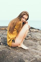 Rubia (Marta Nørgaard) Tags: portrait film beach girl face fashion closeup canon vintage outdoors 50mm spain model photographer indie editorial belgian freelance lightroom fahion fashioneditorial fashionphotographer editorialphotographer
