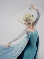 Elsa Maquette Reproduction Figurine - Deboxed and Assembled - Midrange Right Front View #2 (drj1828) Tags: frozen disney animated resin figurine purchase limitededition elsa snowqueen enesco deboxed waltdisneyarchivescollection