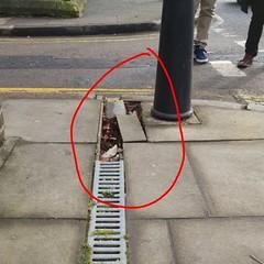 Reported to LBTH (Carol B London) Tags: road tarmac roadworks cobblestones e1 stepney londone1 towerhamlets stepneygreen eyesores lbth