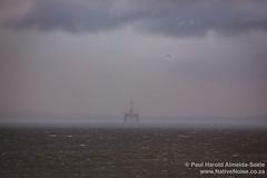 Oli Rig in the North Sea, Kirkcaldy, Scotland