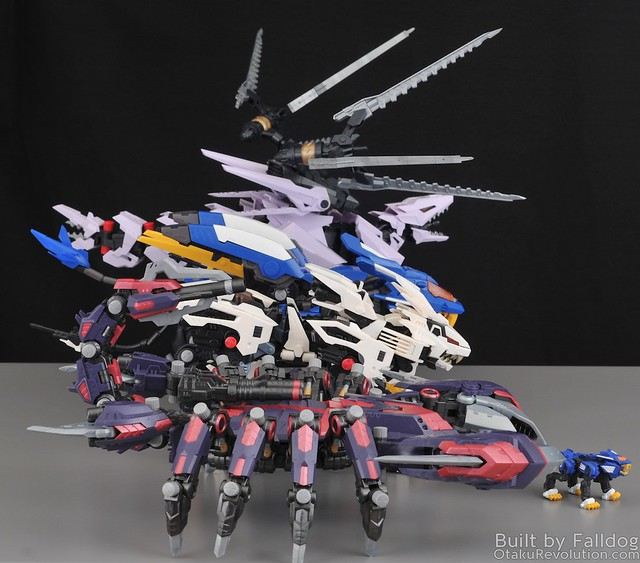 HMM Zoids - Death Stinger Review 2 by Judson Weinsheimer
