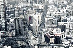 Slicing The City (bindermichi) Tags: city nyc houses urban usa newyork streets nikon january flatiron d800 2014