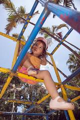 _ITA1261 (Edson Grandisoli. Natureza e mais...) Tags: parque cidade brinquedo brincar urbano menina brincando 4anos trepatrepa regiosudeste reaverde jovemcriana