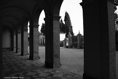 Walk through Cemetery (xiaolifra) Tags: cemetery dead peace riposo morte silence rest column colonne cimitero silenzio colonnato morti