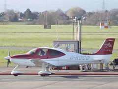 G-KOCO Cirrus SR22 (Aircaft @ Gloucestershire Airport By James) Tags: james airport gloucestershire lloyds cirrus sr22 egbj gkoco