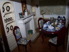 102_7540 (Large) (sheila32711) Tags: food dinner miniature diningroom 112 dollshouse