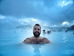 Blue Lagoon (Toni Kaarttinen) Tags: bear november winter boy hairy holiday man guy swimming beard island iceland islandia chest adventure experience hotspring spa bluelagoon scruffy scruff islande izland islanda bláalónið islândia ijsland islanti islando islàndia исландия アイスランド