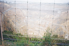 CNV00088 (C H E M I C A L S) Tags: mist color film rain fog analog gold mine hole kodak ground f 200 cave dig quarry qu burrow