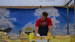 _ (ephedrone) Tags: portrait people food man netherlands amsterdam cheese seller