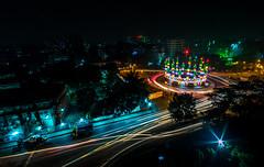 Chaotic Luminosity (arnabjosephite) Tags: city longexposure light shadow lightpainting cars festival night sharif darkness headlights slowshutter dhaka festivity bagh bangladesh longshutter urs lightstream darbar kutub orosh darbarsharif kutubbagh