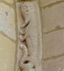 Biron - Saint-Eutrope / Notre-Dame (Martin M. Miles) Tags: france 17 biron saintonge charentemaritime caminofrancs eunate poitoucharentes olcoz sainteutrope viaturonensis sainteutropiusofsaintes viaaragons