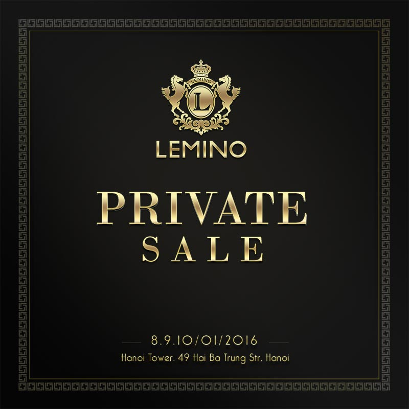 Lemino Private Sale