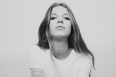 Eline @ Dominique Models (FilibertPhotography) Tags: brussels blackandwhite beautiful beauty fashion magazine studio model belgium agency studiophotography