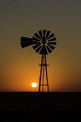 Windmill Sunset HWY14 (Harris Chris) Tags: windmill highway14 windmillsunset kansaschrisharris