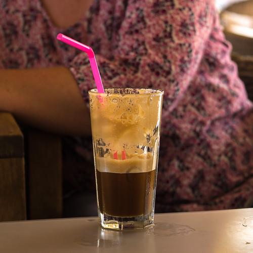 καφές φραπέ - Café frappé