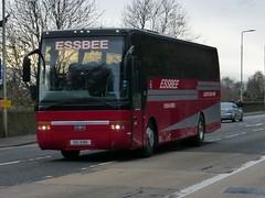 OIG 5186 (Cammies Transport Photography) Tags: road england bus scotland coach edinburgh rugby v van specials corstorphine hool 5186 oig essbee oig5186