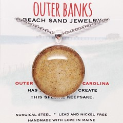 Outer Banks Sand Jewelry (Bohme Chic) Tags: beach necklace sand sandjewelry bohemechic roundsandnecklace beachsandjewelry outerbankssandjewelry obxjewelry outerbankssandnecklace