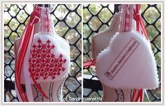 0017 - BRD - Corazones Navideños (Sandra Janeth Saa Martínez) Tags: navidad bordado corazones hechoamano llaveros