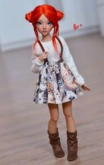 (4arllin) Tags: alpaca doll tan wig moe bjd fairyland celine atelier mnf minifee momoni