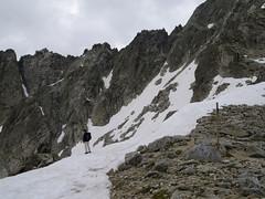 Na przełęczy Col Abellers