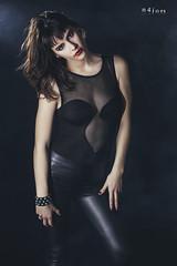 Black love III (maikel_nai) Tags: girl beauty studio model photoshoot body smoke gothic redlips brunette lowkey inblack blackleggings n4i n4ies bodystocking2016carlotabusttelocristinagobodybotasnegrasestudiogticahielohumoicegirllabiosrojoslegginslatexlegginsnegrosmakeuprosarojasalsangresesinstrobisttaconesvestidonegrovestidorojojerezdelafronteracdizspain